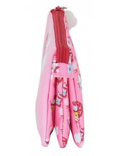 Paraguas mujer Mini 54 cm 8 Varillas Abre-Cierra 3 secciones lunares microfibra  26114